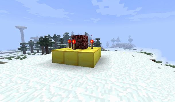 Building Herobrine's Totem - Step Three